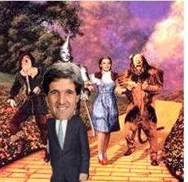 John Kerry on the Yellow Brick Road